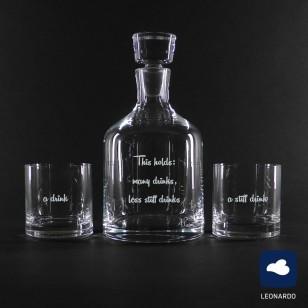 Whiskyset Ambrogio Leonardo