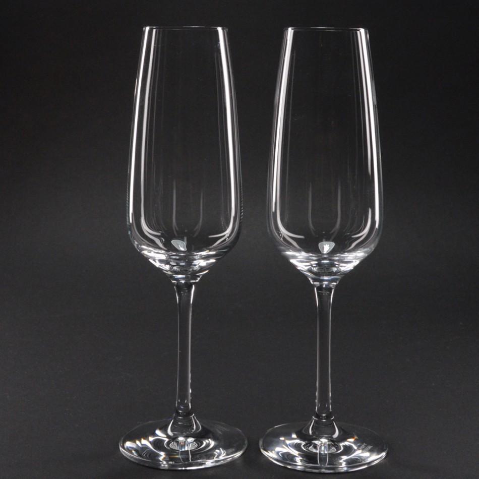 champagneglazen schott zwiesel taste glas graveren de glasgraveur. Black Bedroom Furniture Sets. Home Design Ideas