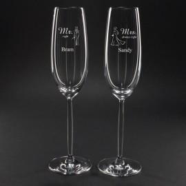champagneglazen graveren bruiloft