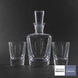 Whisky set Tossa kristal Schott Zwiesel.